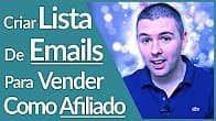 Criar lista de email - formula negocio online