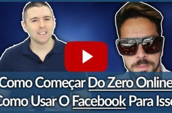 (Divulgar No Facebook Sem Investir) –  Bate Papo Com Cesar Borges | Alex Vargas