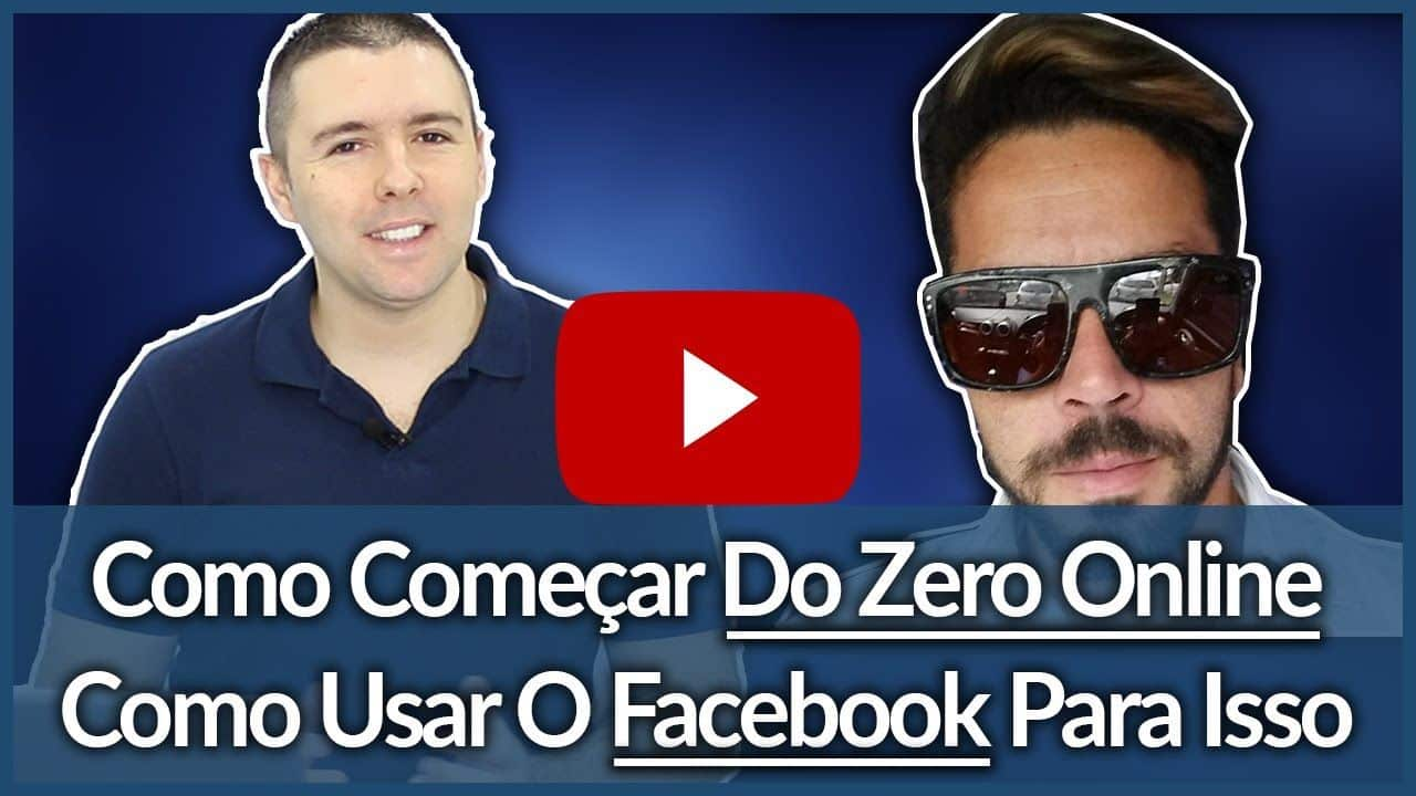 (Divulgar No Facebook Sem Investir) - Bate Papo Com Cesar Borges | Alex Vargas