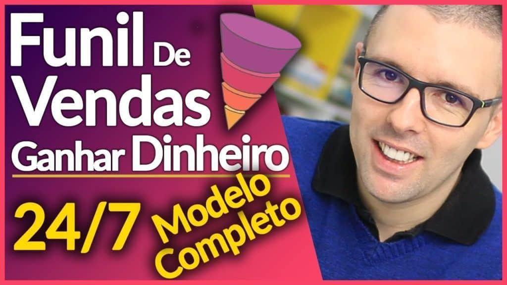 FUNIL DE VENDAS Modelo Completo p/ GANHAR DINHEIRO NA INTERNET Todos Os Dias 24/7