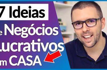 7 Ideias de Negócios Lucrativos para Começar em Casa com Pouco Investimento   Alex Vargas