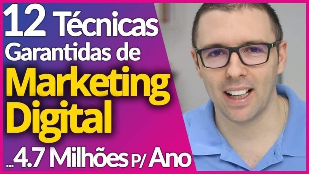 MARKETING DIGITAL | 12 Estratégias Infalíveis P/ Vender, Faturar e Aplicar no Seu Marketing Digital