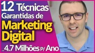 MARKETING DIGITAL | 12 Estratégias Infalíveis P/ Vender, Faturar e Aplicar no Seu Marketing Digital