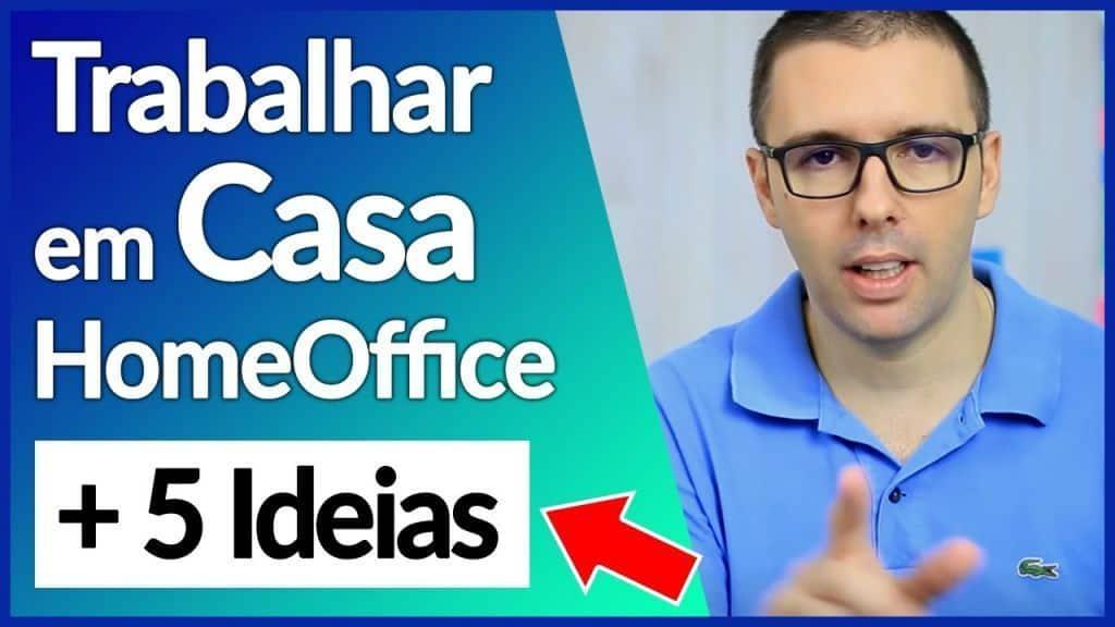 Como Trabalhar Em Casa Com HomeOffice + 5 Ideias Para Começar | Alex Vargas