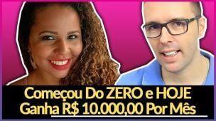 Como ganhar 10 mil reais pela internet por mês. Conversa com Ives Lopes - ela revela como faz.