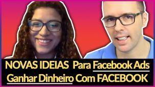 😀 COMO ELA GANHA DINHEIRO COM FACEBOOK, FACEBOOK ADS | Conversa Com Michelle | Alex Vargas