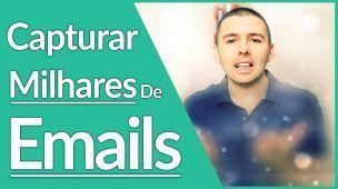 COMO CAPTURAR MAIS EMAILS | A Forma Mais SURPREENDENTE Que Existe | Alex Vargas