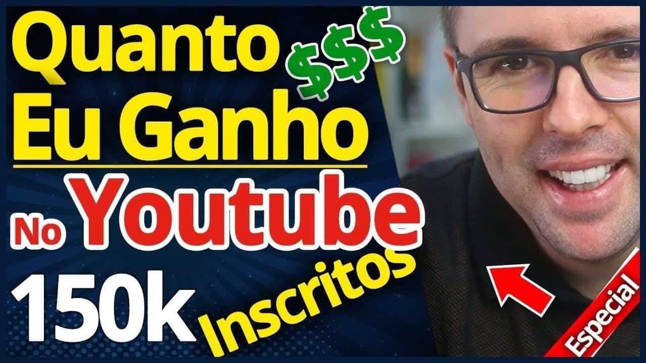 Quanto eu Ganho No Youtube | Como Ganhar Dinheiro no Youtube (MOSTREI)
