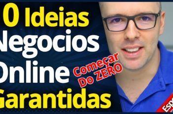 10 Incríveis Ideias De NEGÓCIOS ONLINE Para Começar Agora do Zero, Garantidas