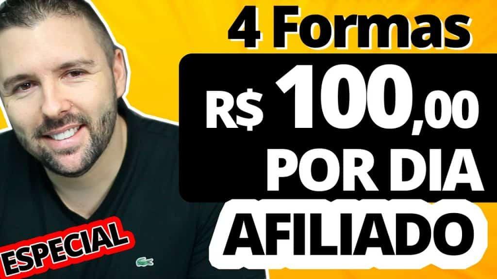 GANHAR R$ 100,00 POR DIA COMO AFILIADO | 4 Estratégias | Provei Na Minha Conta