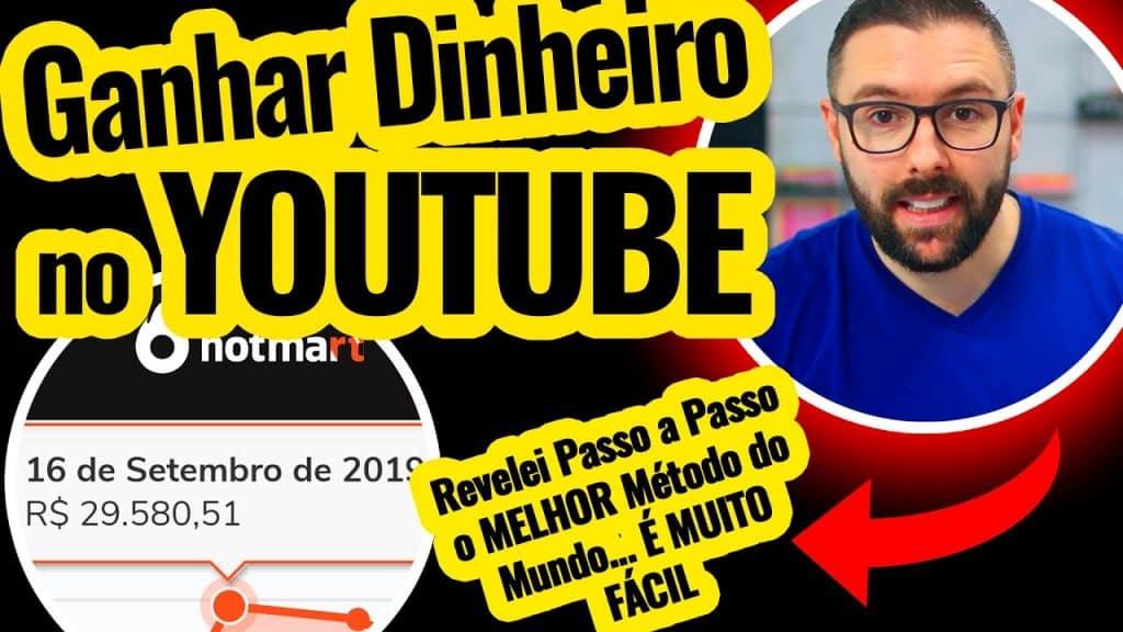 """COMO GANHAR DINHEIRO NO YOUTUBE - """"O Melhor Vídeo Sobre Como Ganhar Dinheiro no Youtube"""""""