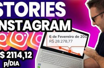 INSTAGRAM STORIES | Como Usar o STORIES do Instagram para Ganhar Dinheiro (Estratégia Completa)