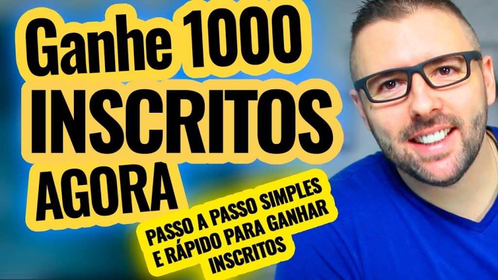 Seus Primeiros 1000 INSCRITOS | Método Comprovado e Rápido para Ganhar Inscritos