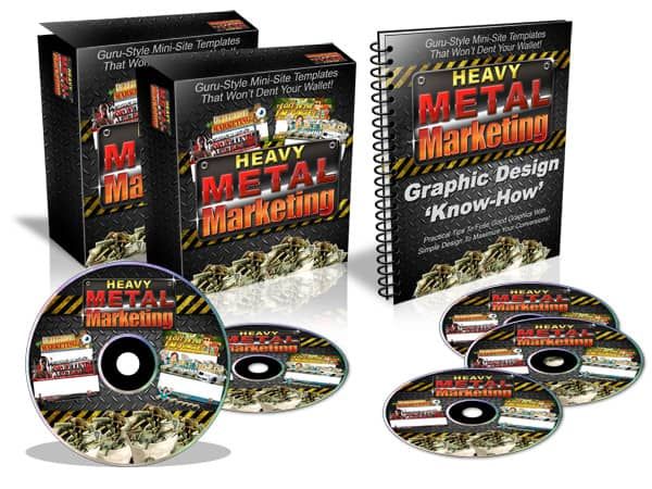 Heavy Metal Marketing Templates