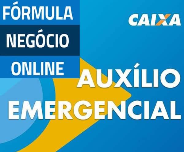 auxilio emergencial formula negocio online