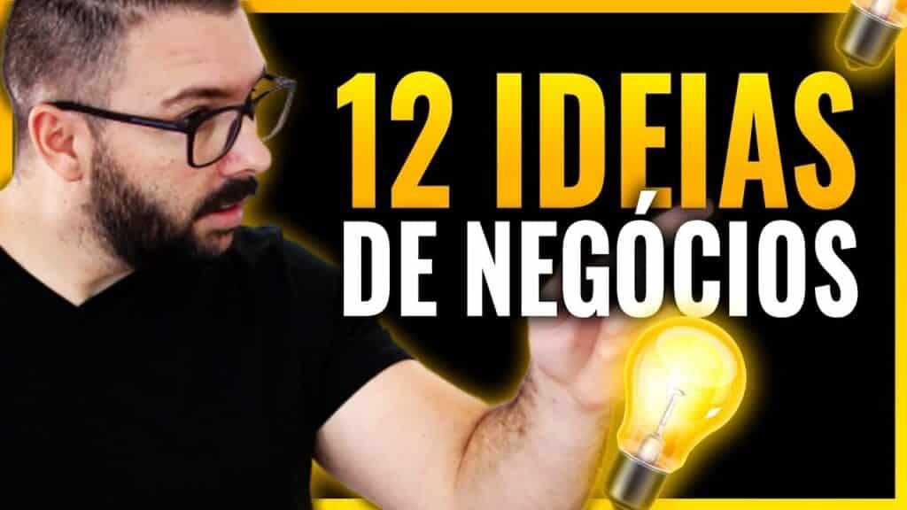 12 IDEIAS DE NEGÓCIOS INCRÍVEIS PARA COMEÇAR AINDA ESSE ANO