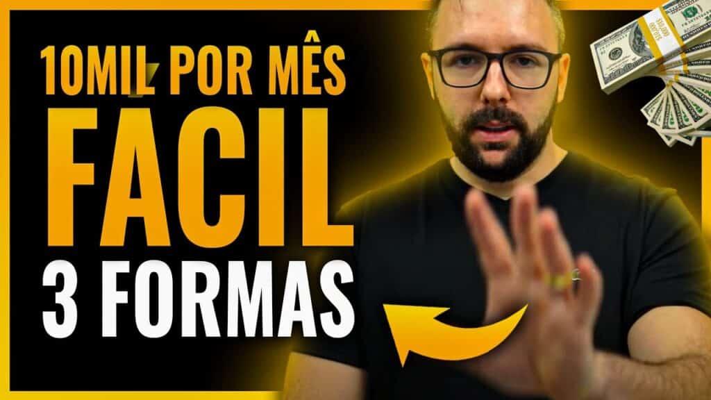 3 FORMAS DE GANHAR R$ 10MIL POR MÊS NA INTERNET (PASSO A PASSO MÉTODOS 2020)