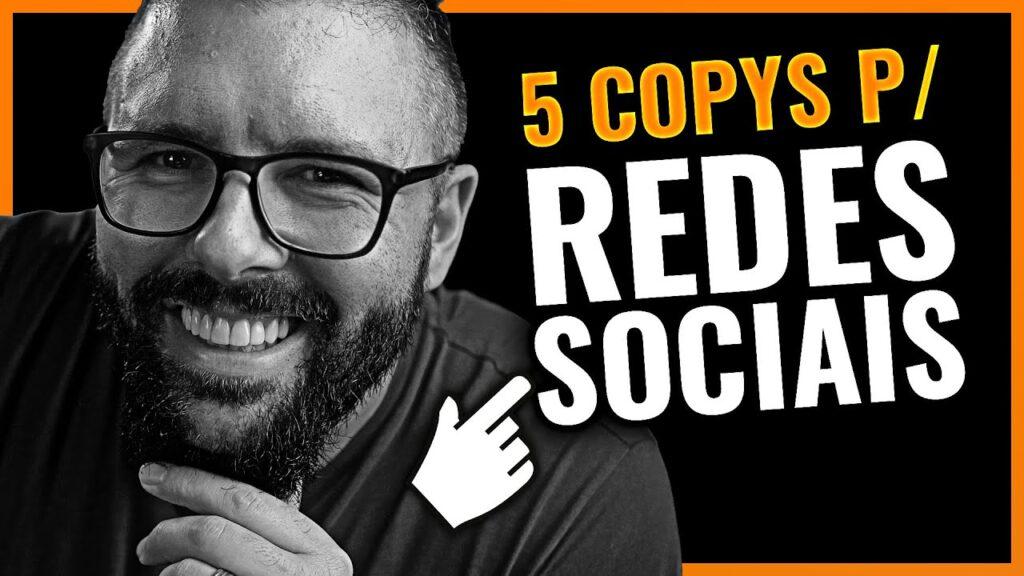 5 COPYS PARA VENDER NAS REDES SOCIAIS (Copywriting Infalível Para Instagram Whatsapp Youtube)