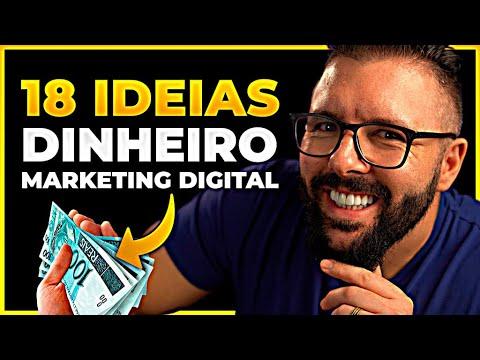 18 IDEIAS P/ GANHAR DINHEIRO COM MARKETING DIGITAL (Funciona Garantido)
