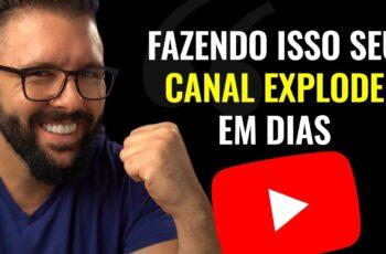 COMO INICIAR UM CANAL DE SUCESSO NO YOUTUBE EM 2021 passo a passo completo do zero