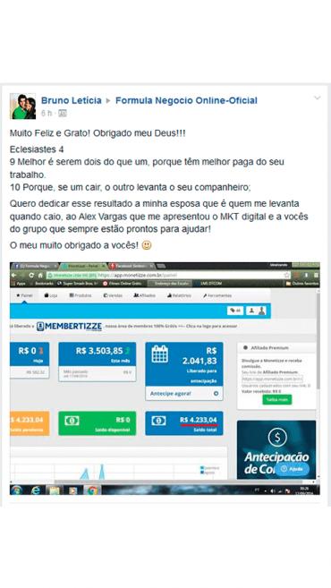 Fórmula Negócio Online - Ganhar Dinheiro na Internet